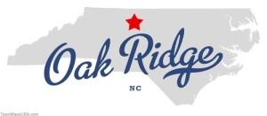 map_of_oak_ridge_nc