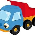 toy truck animated